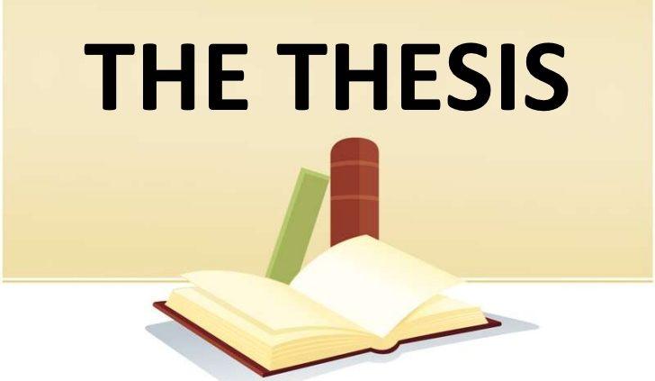 نوشتن پایان نامه و رساله دکتری به زبان انگلیسی